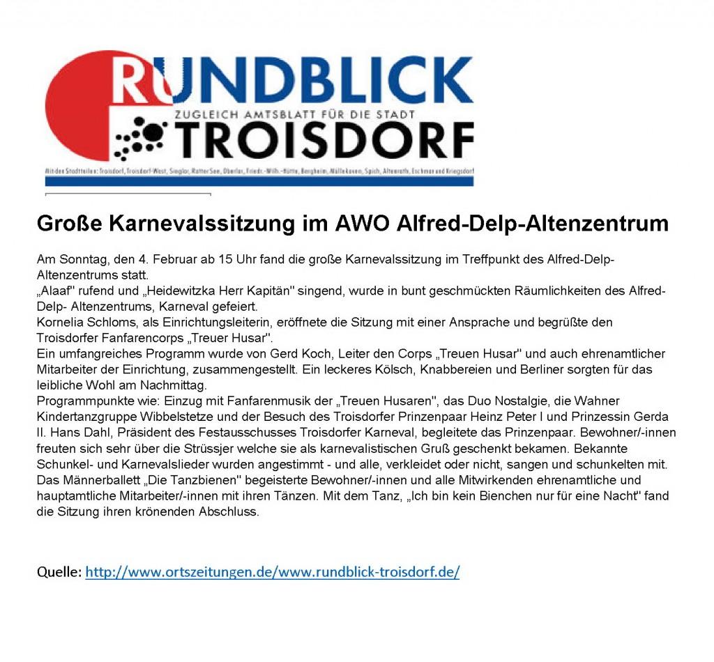 2018-02-04 Große Karnevalssitzung im AWO Alfred