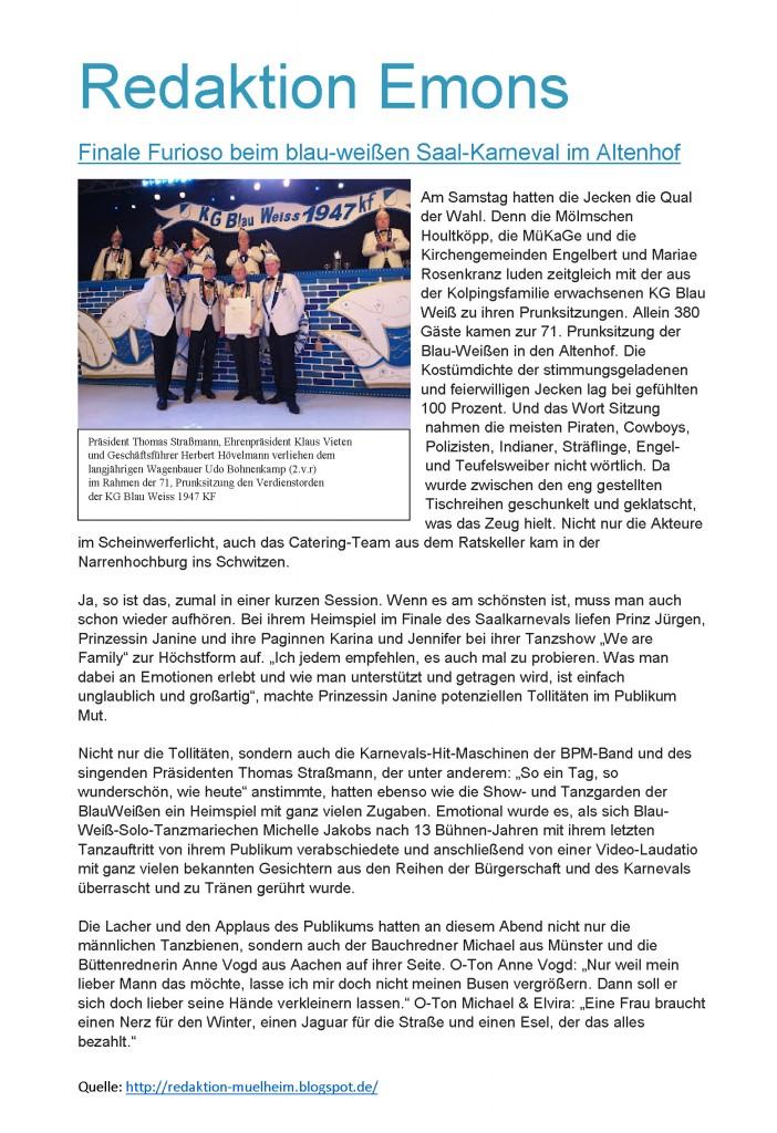 2018-02-11 Finale Furioso bei Blau-Weiss