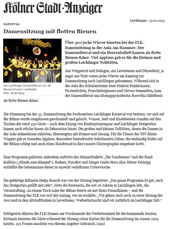 2013-01-13 Leichlingen KSAT