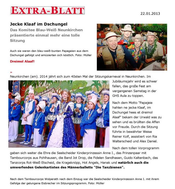 2013-01-22 Extrablatt