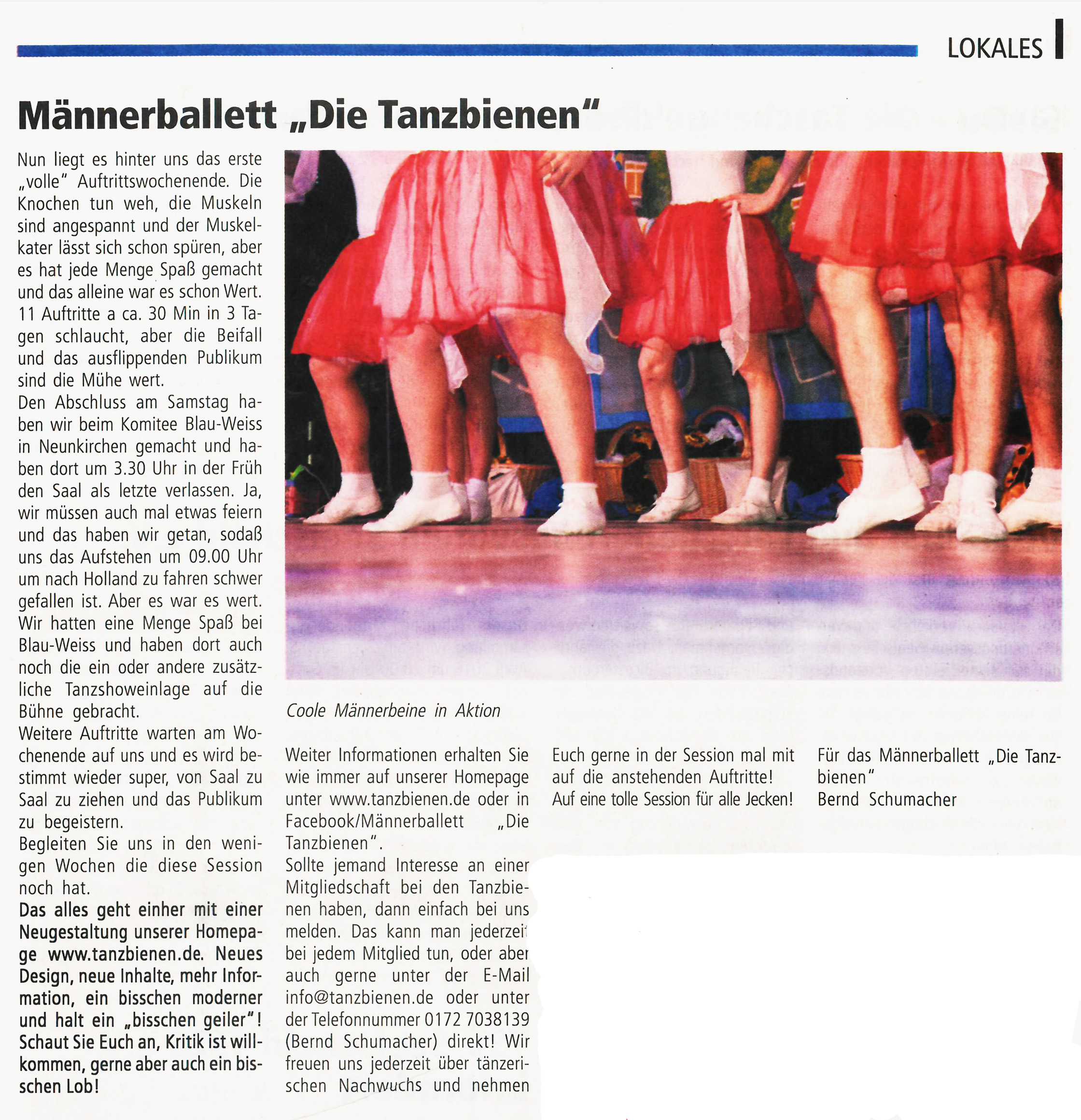 2016-01-18 Amtsblatt Eigener Bericht