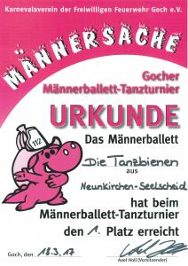 2017 Urkunde
